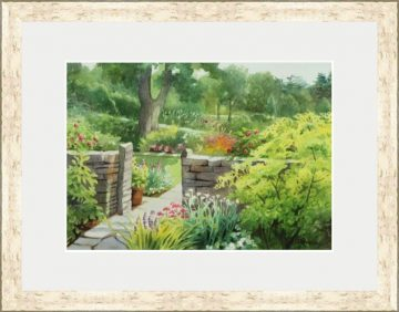 Botanical Gardens at Cornell I Watercolor - Giclee Print