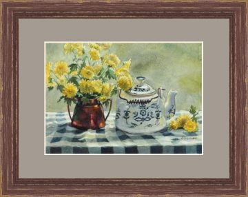 Morning Sunshine Tea - Giclee Print