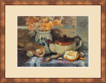 Harvest Tea - Giclee Print