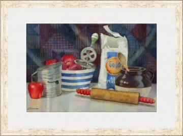 American Apple Pie - Giclee Print