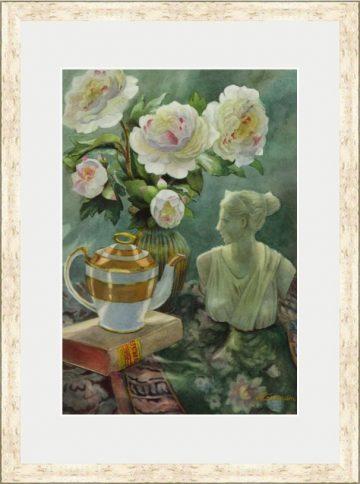 Enlightenment Tea - Giclee Print
