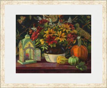 Autumn's Evening Glow - Giclee Print