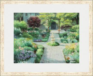 Garden Door - Giclee Print