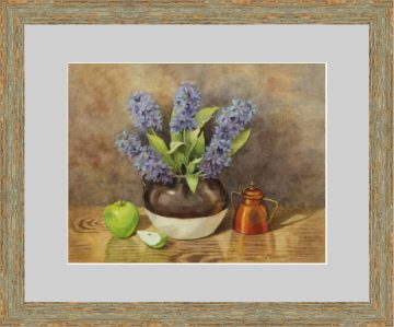 Lilac & Green Apples - Giclee Print