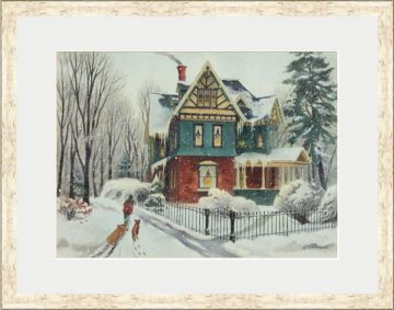 Winter Day's End - Giclee Print