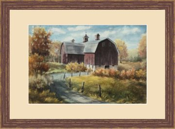 Country Road - Giclee Print