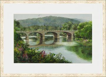 Riverside Bridge I – Binghamton NY - Giclee Print