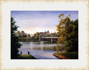 Dusk on the Susquehanna - Giclee Print