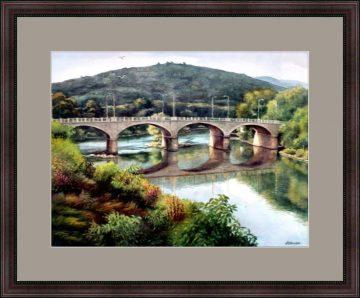 Riverside Bridge II – Binghamton NY - Giclee Print