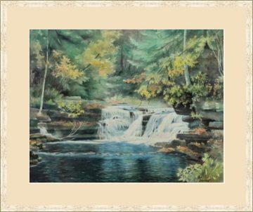 Buckley Hollows - Giclee Print