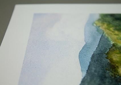 Paper Detail - 310g William Turner Hahnemuhle fine art paper