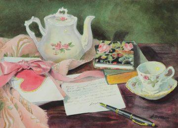 Sweetheart Tea - Giclee Print