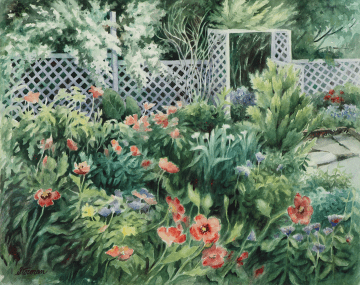 Private Garden - Giclee Print