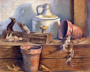 Terracotta - Giclee Print