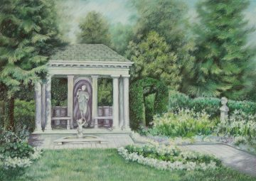 Sonnenberg Gardens - Giclee Print