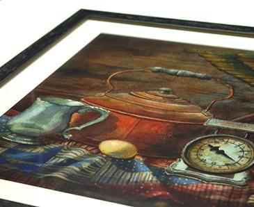 Glazing Detail - Tru Vue Reflection Control Acrylic