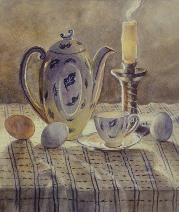 Candlelight Tea - Giclee Print
