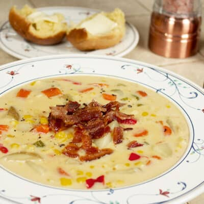 Sweet & Creamy Corn Chowder